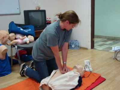 Group learning first aid